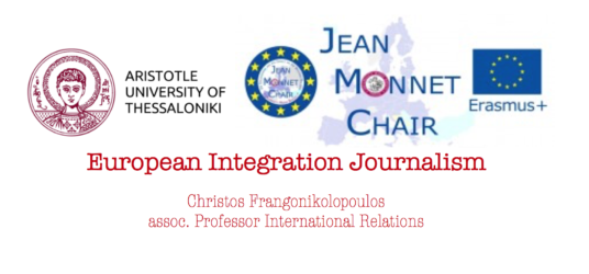 Jean MONNET CHAIR EUROPEAN INTEGRATION JOURNALISM